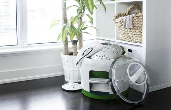 Drumi - the foot powered washing machine!  Macht nicht nur die Wäsche sauber sondern bringt auch Bewegung in den Alltag. :-)