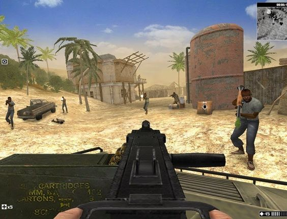 Terrorist Takedown Conflict in Mogadishu Video Game Images