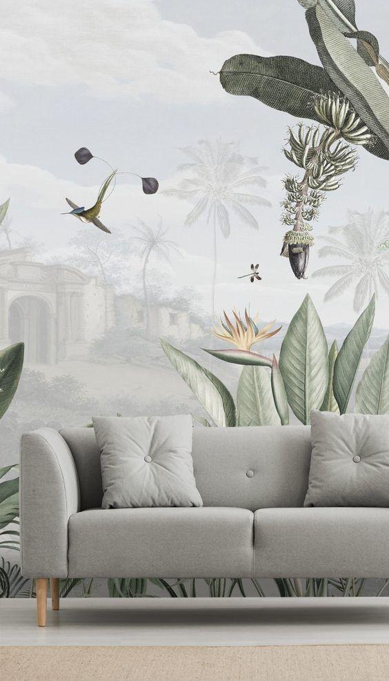 Botanical Beauty Wallpaper Wallsauce Nz Rug Decor Living Room Beauty Wallpaper Kids Living Rooms