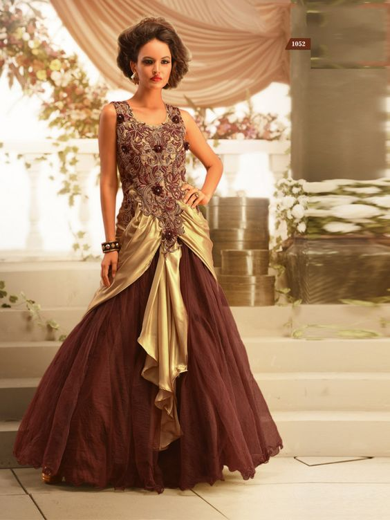 Evening gowns-Gowns online shopping india-Buy gowns online ...