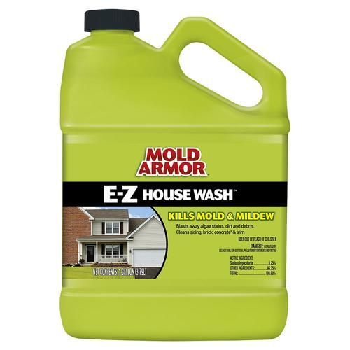 Mold Armor 128 Fl Oz House And Siding Outdoor Cleaner Lowes Com In 2020 House Wash Mildew Remover Clean Siding