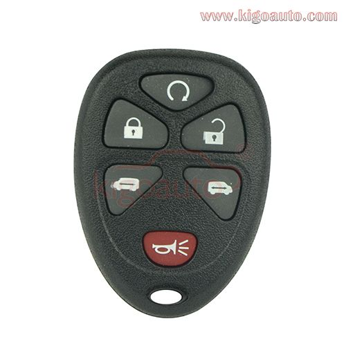 Remote Fob Case For Gm 6 Button Fobs Remote Battery Holder