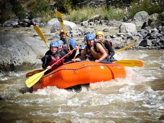 Rafting en el Cajon del Maipo
