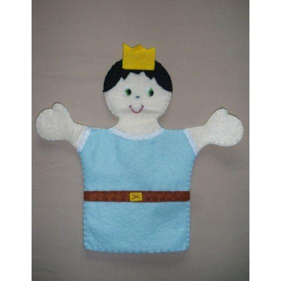 Marionnette feutrine CHEVALIER