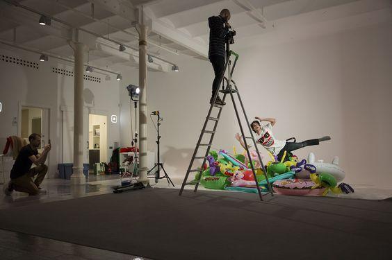 Making of - Videoshooting in Aclam Studio.