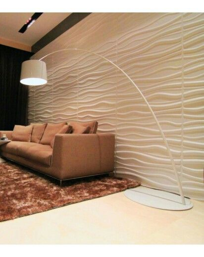 3d wandpaneel wave wanddecoratie wanddecoratie 3d for 3d feature wallpaper