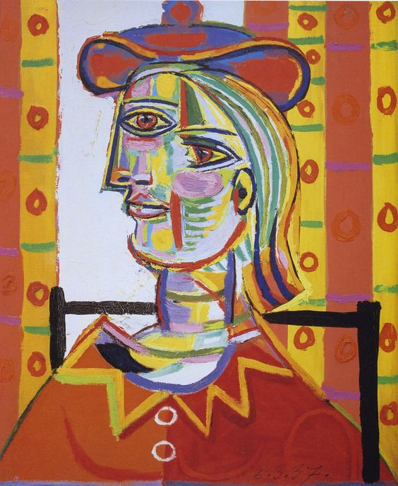 """Pablo Picasso, """"Femme assise"""""""