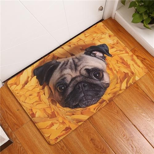 Dog Door Mats Digital Printing Foot Mat Kitchen Rugs Non Slip Mat Pet Carpet Doormat Rug Hallway Carpet Runners Textured Carpet Carpet Runner