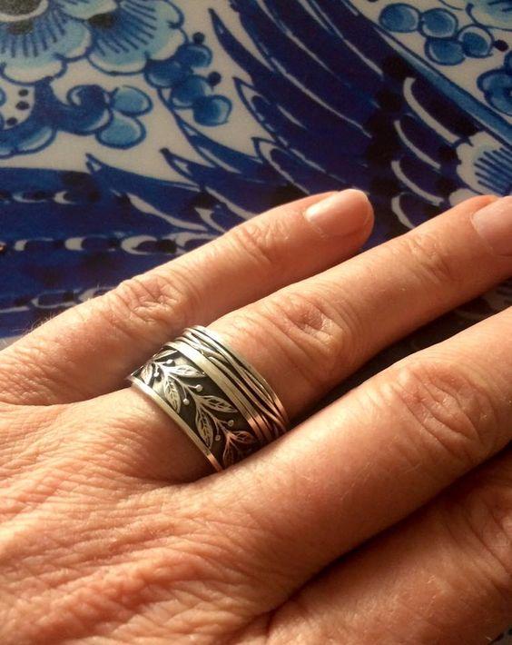 Wat een kunstwerk!  #Vinx #Hollands #Glorie #ringen #zilver #design