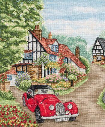 Village Life - Cross Stitch Kit