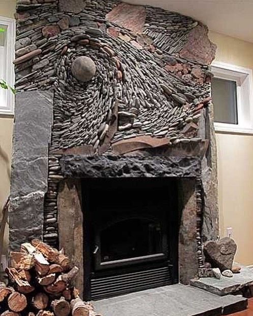 What Do You Think Cool Or Creepy Fireplace Homedecor Home