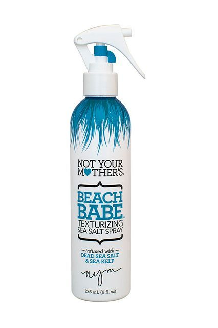 "Not Your Mother's Beach Babe Texturizing Sea Salt Spray ""This spray leaves a really great rough, salty texture. I really like the feeling of hair when using this product for a natural, wavy look.""  Not Your Mother's Beach Babe Texturizing Sea Salt Spray, $3.71, available at Ulta.:"