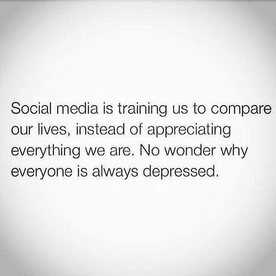 Social media is the worse thing to happen to this world! Cut it out. Can't stress it enough.