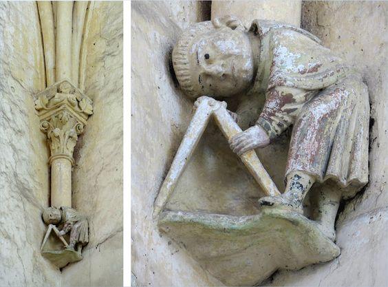 Abbaye de la Trinité à Vendôme, le maître du trait au grand compas