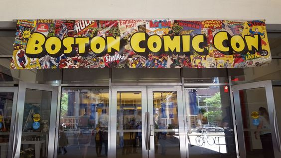 Did you go to #BostonComicCon15? How was it?