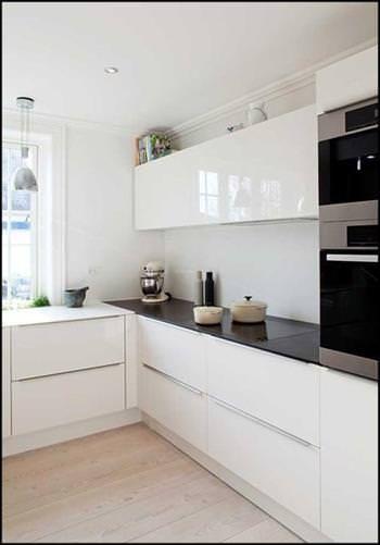 Decoration De Cuisine Noir Et Blanc Kitchen Flooring Ikea