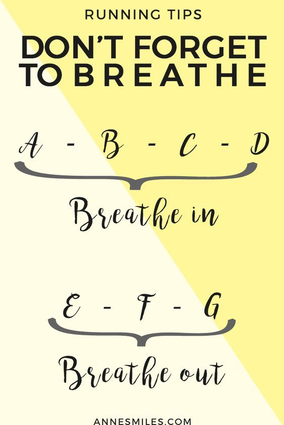 Running Tips: Don't Forget To Breathe
