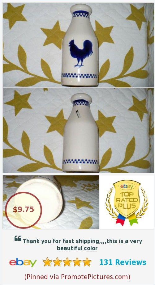 Vintage Ceramic Milk Jug Piggy Bank Screenprinted Rooster Coins Paper Money Ebay Unknown 10 Benefits Peanut S Pl Screen Printing Vintage Ceramic Milk Jug