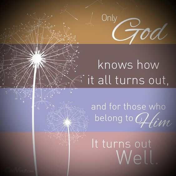 Our father tells us that it all turns out well in the end my friend. #LiveFreeLoveWell BrokenChainsIntl.com