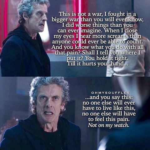 Doctor Who season 9 - This was The Doctor at his truest.