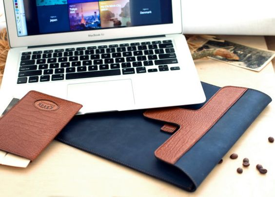 Leather Macbook Pro Case, Leather Macbook Air Case, Macbook Cover