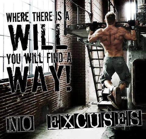 Rather valuable bodybuilding motivation no excuses