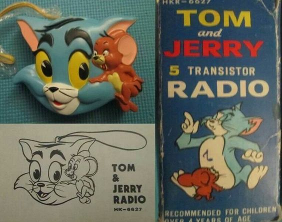 Image result for tom and jerry radio