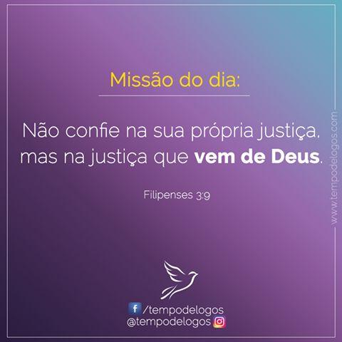 Missão do Dia Acesse: http://bit.ly/1RZl8hd  #TempodeLogos #MissãodoDia