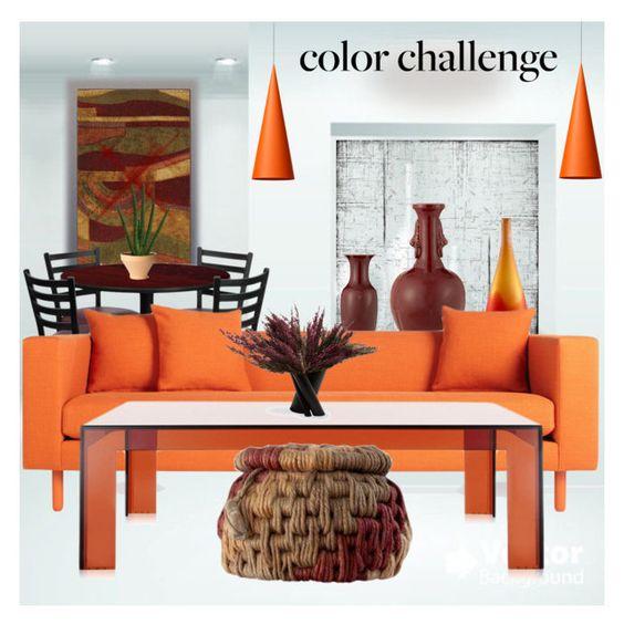 pumpkin & burgundy | home home, interior design and decor