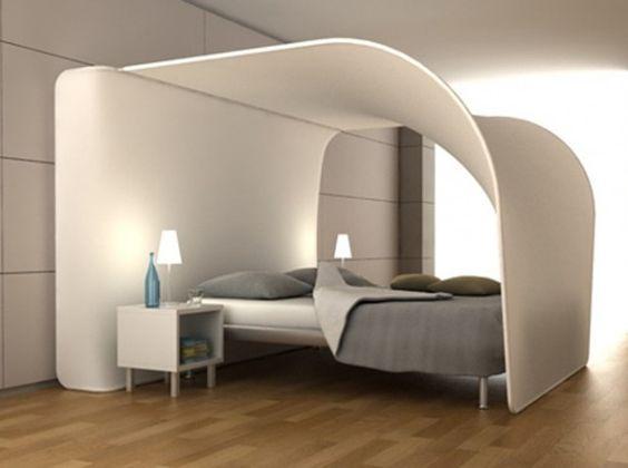Ciel de lit creme fresh | baldaquin | Pinterest | Bedrooms ...