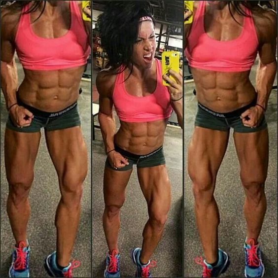 Eric hates everything about this and her and she is everything that I love. Motivation, determination, body.