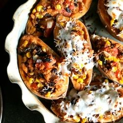 A new take on twice baked potatoes