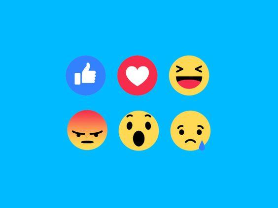 Like you already know— now say hello to love, haha, wow, sad, and angry.