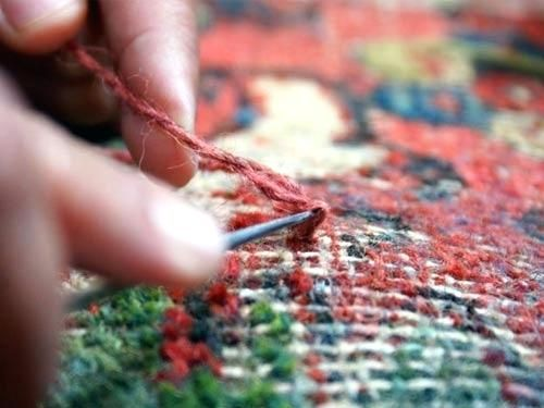 Lovely Oriental Rug Repair Photographs