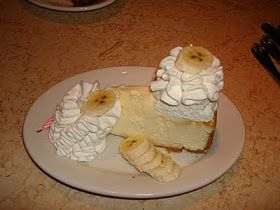 Cheesecake Factory Restaurant Copycat Recipes: Banana Cream Cheesecake or this one with caramel drizzle....