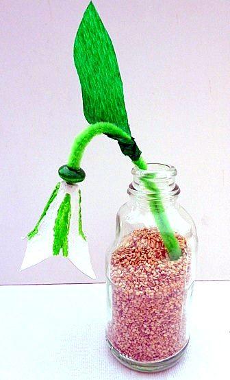 schneegl ckchen aus eierkarton pflanzen basteln meine. Black Bedroom Furniture Sets. Home Design Ideas