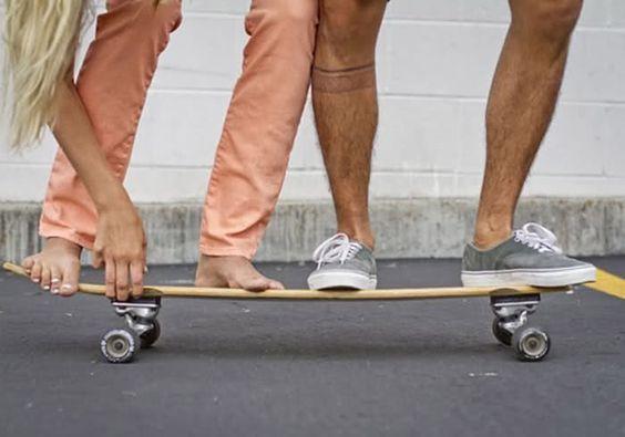 Skate tandem