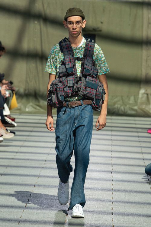 junya watanabe spring summer 2019 collection runway paris fashion week mens