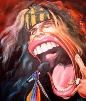 Steven Tyler, I knew he had a big mouth, but.....