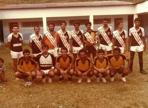 Um clássico do futebol de Mata Grande.