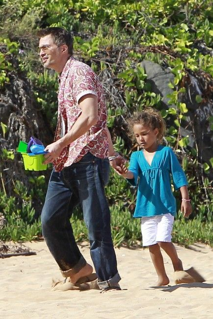 Halle Berry's Daughter Has Fun in Hawaii