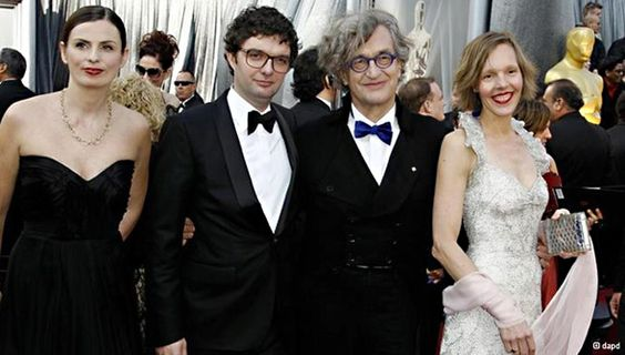 """Wim Wenders on the red carpet at the 2012 Academy Awards where the inspiring 3D breakthrough film """"PINA"""" was nominated for best documentary."""