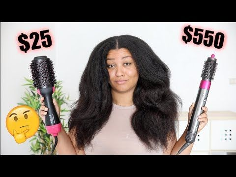 Did I Find A Dyson Airwrap Dupe For 25 Youtube Dupes Dyson Hair Type
