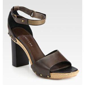 Derek Lam - Koda Studded Leather Clog Sandals  (60% off)