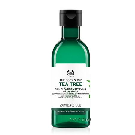 Body Shop's Tea Tree Skin Clearing Toner.: