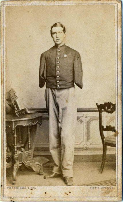 1860's [portrait of a Civil War veteran], Fredericks