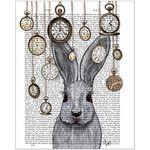 FabFunky Rabbit Time Print
