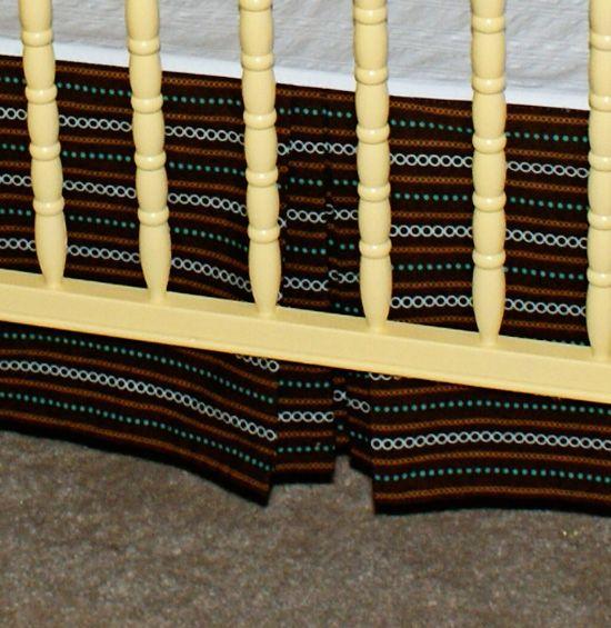 crib skirts cribs and crib skirt tutorial on