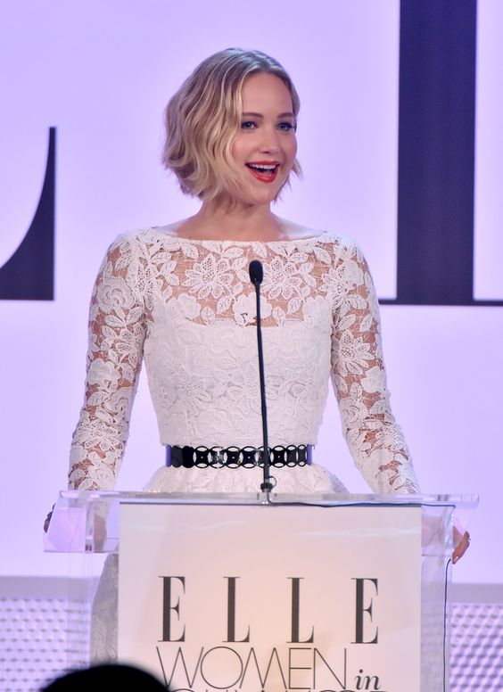 Jennifer Lawrence Photos: ELLE's 21st Annual Women in Hollywood Celebration Show