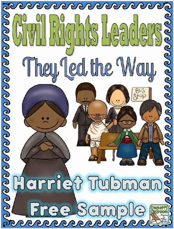 Harriet Tubman Freebie---Crockett's Classroom #Free #ClassroomFreebiesToo